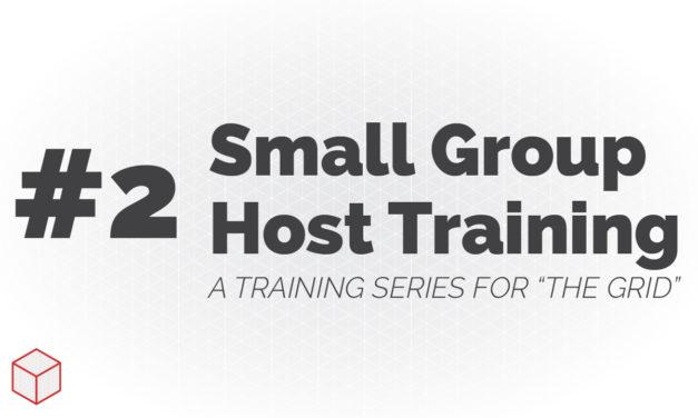 Entrenamiento de host de grupo pequeño: cómo ayudar a las personas a sentirse bienvenidas