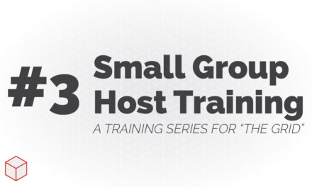 Small Group Host Training – How to Guide a Simple Discussion