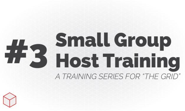 Entrenamiento de host de grupo pequeño: cómo guiar una discusión simple