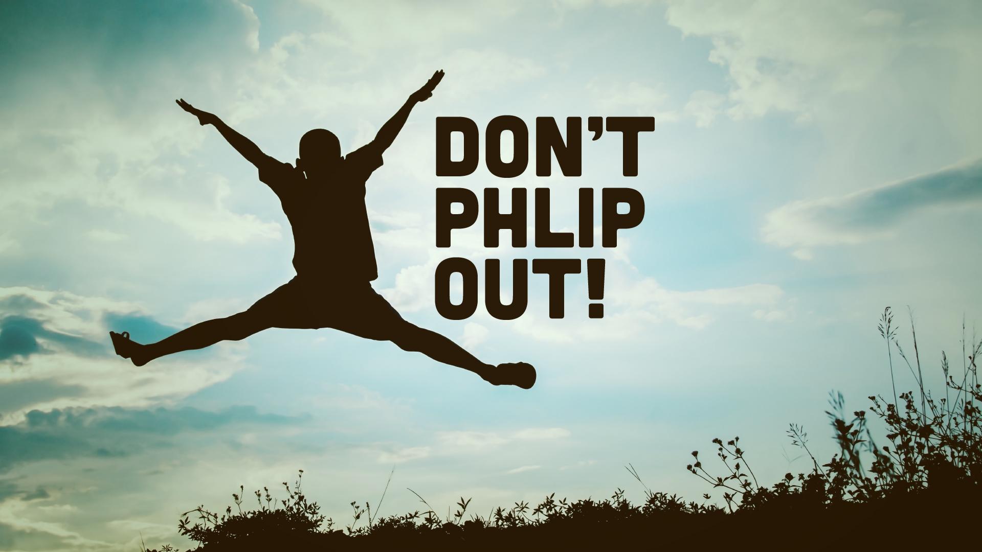 Ne pas Phlip Out! (Série pour enfants)