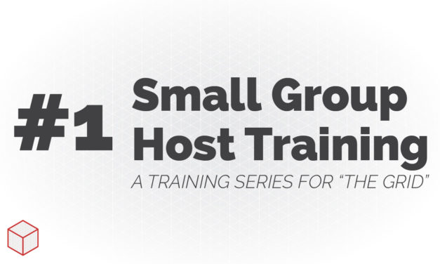 Small Group Host Training – How the Campaign Works