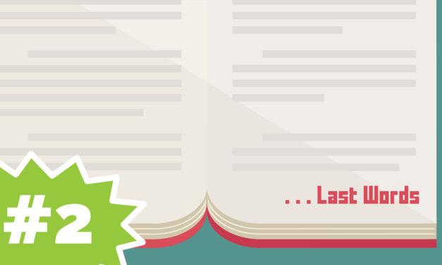 The Famous Last Words of Stephen | Last Words #2 (Kids)