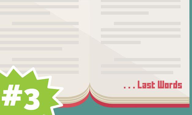 The Famous Last Words of Paul | Last Words #3 (Kids)