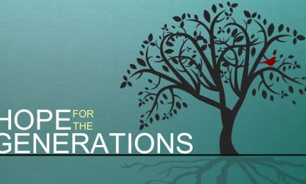 私たちのコミュニティー| 世代への希望