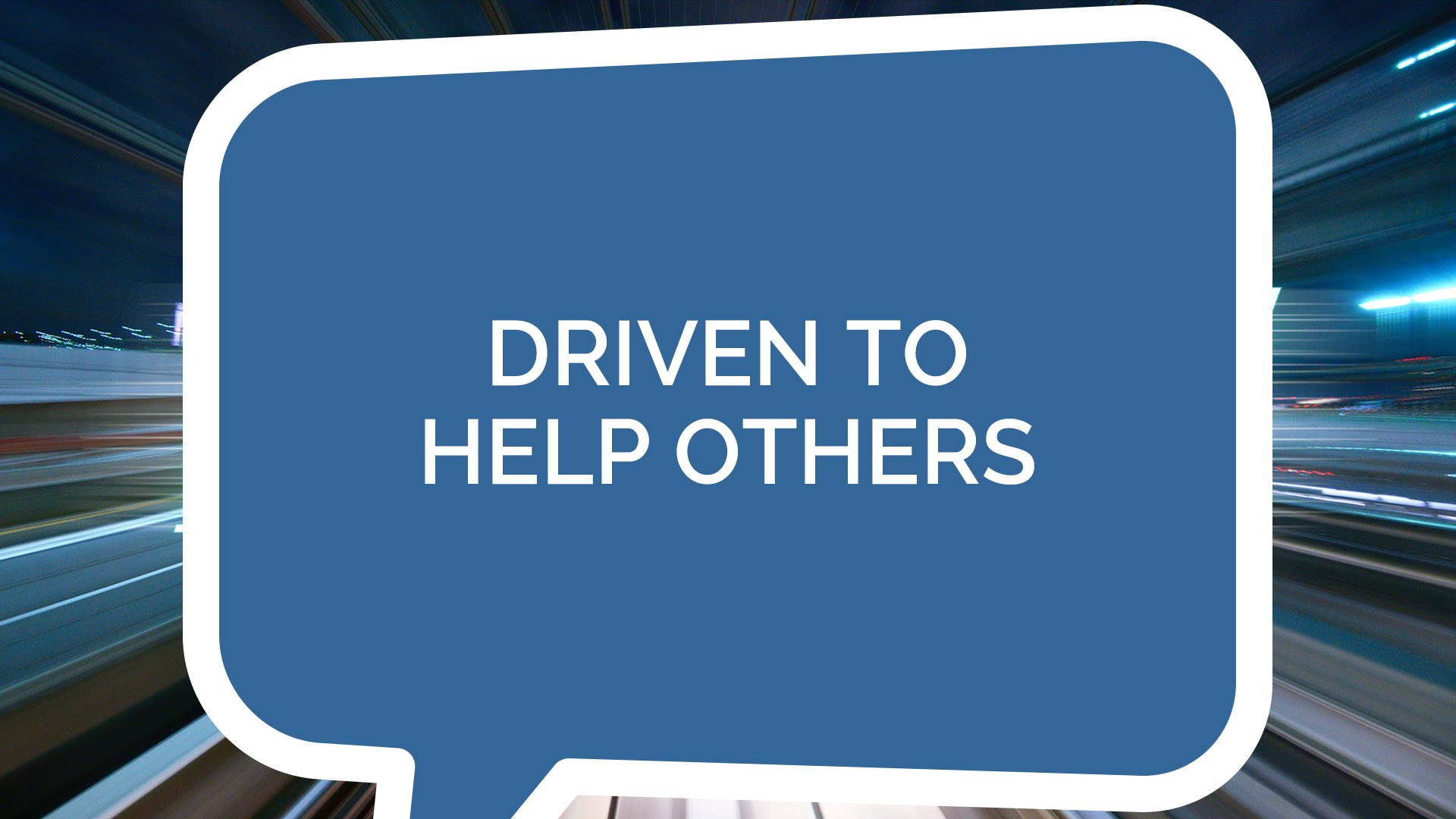 Driven to Help Others (Youth)