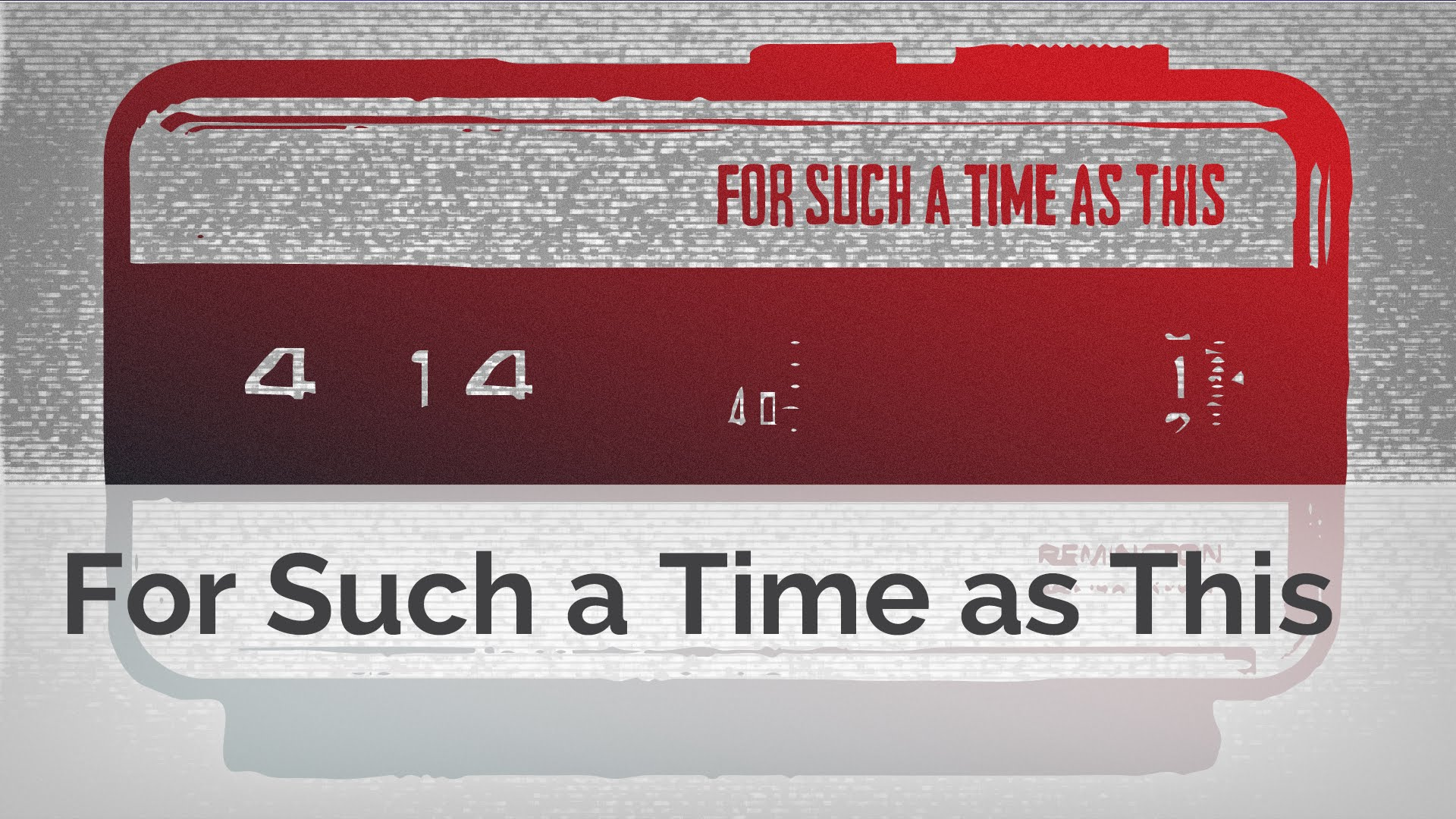 エスター3  -  4:このような時間のために