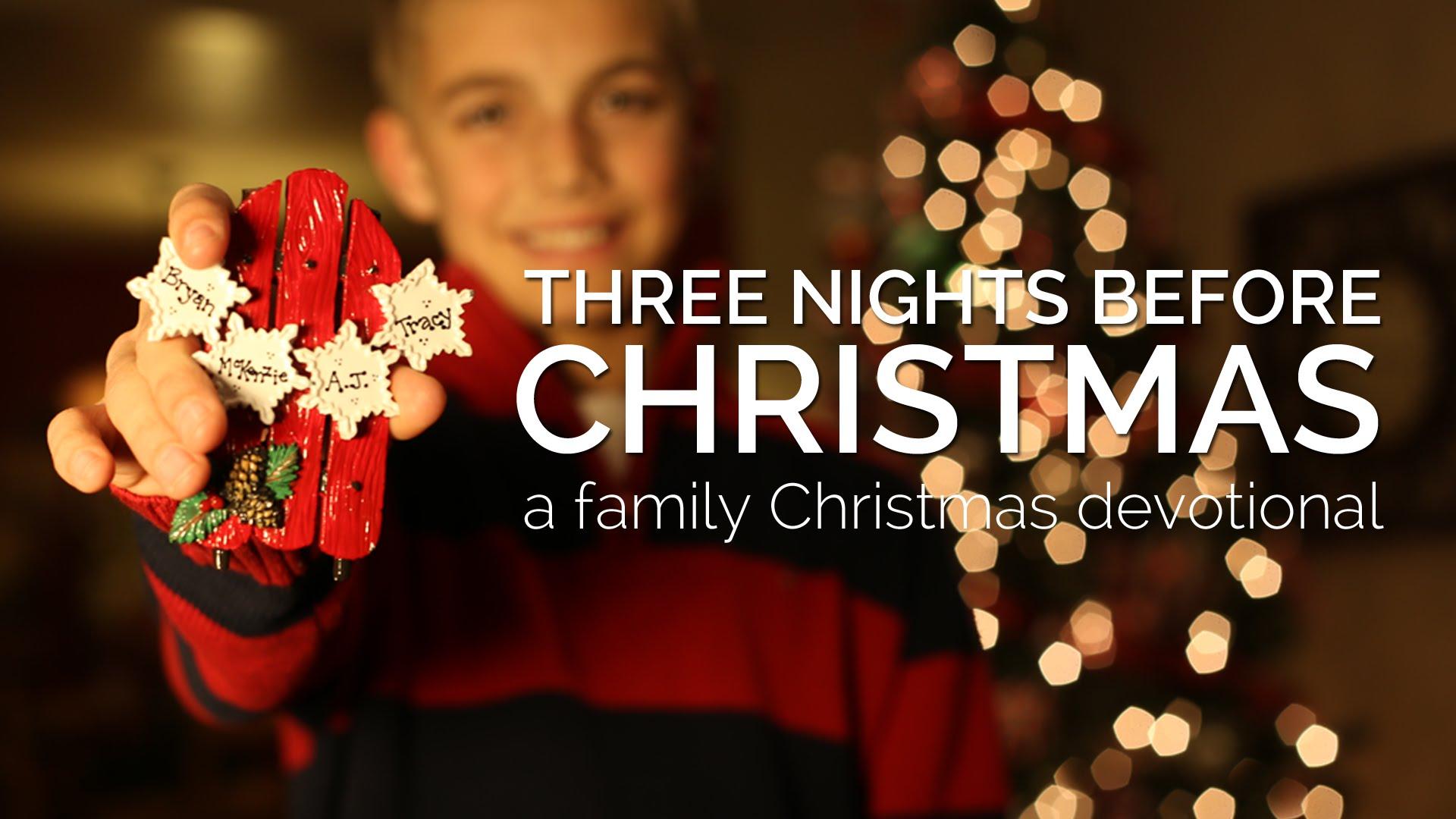 Family Christmas Devotional (Kids)   pursueGOD.org