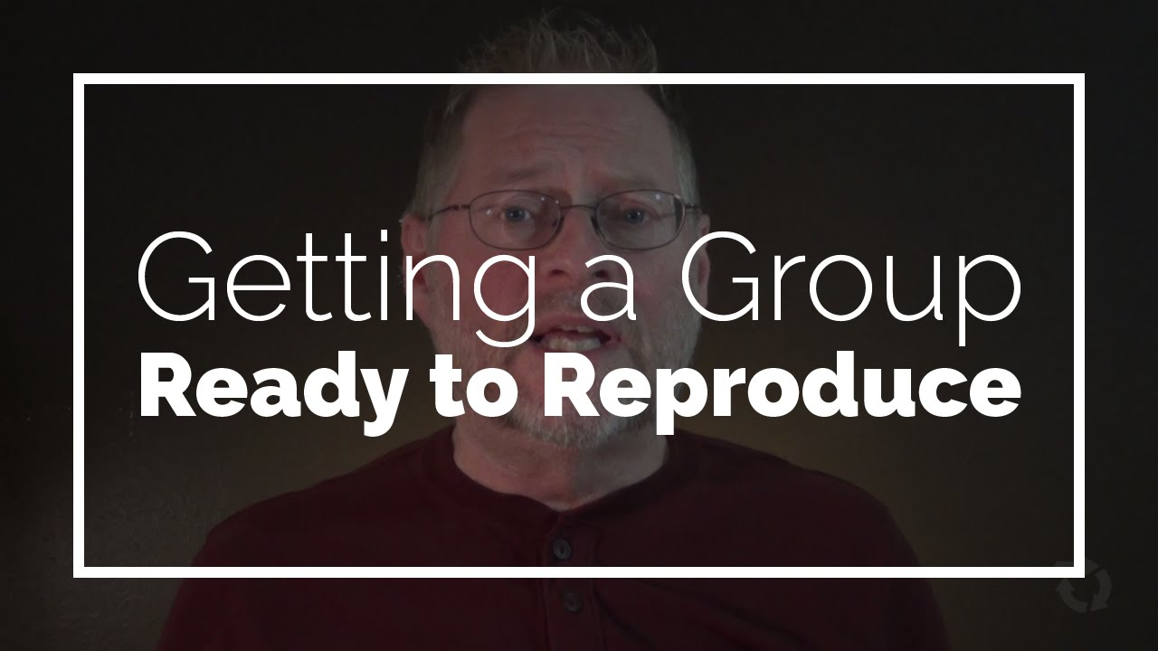 Getting a Group Ready to Reproduce