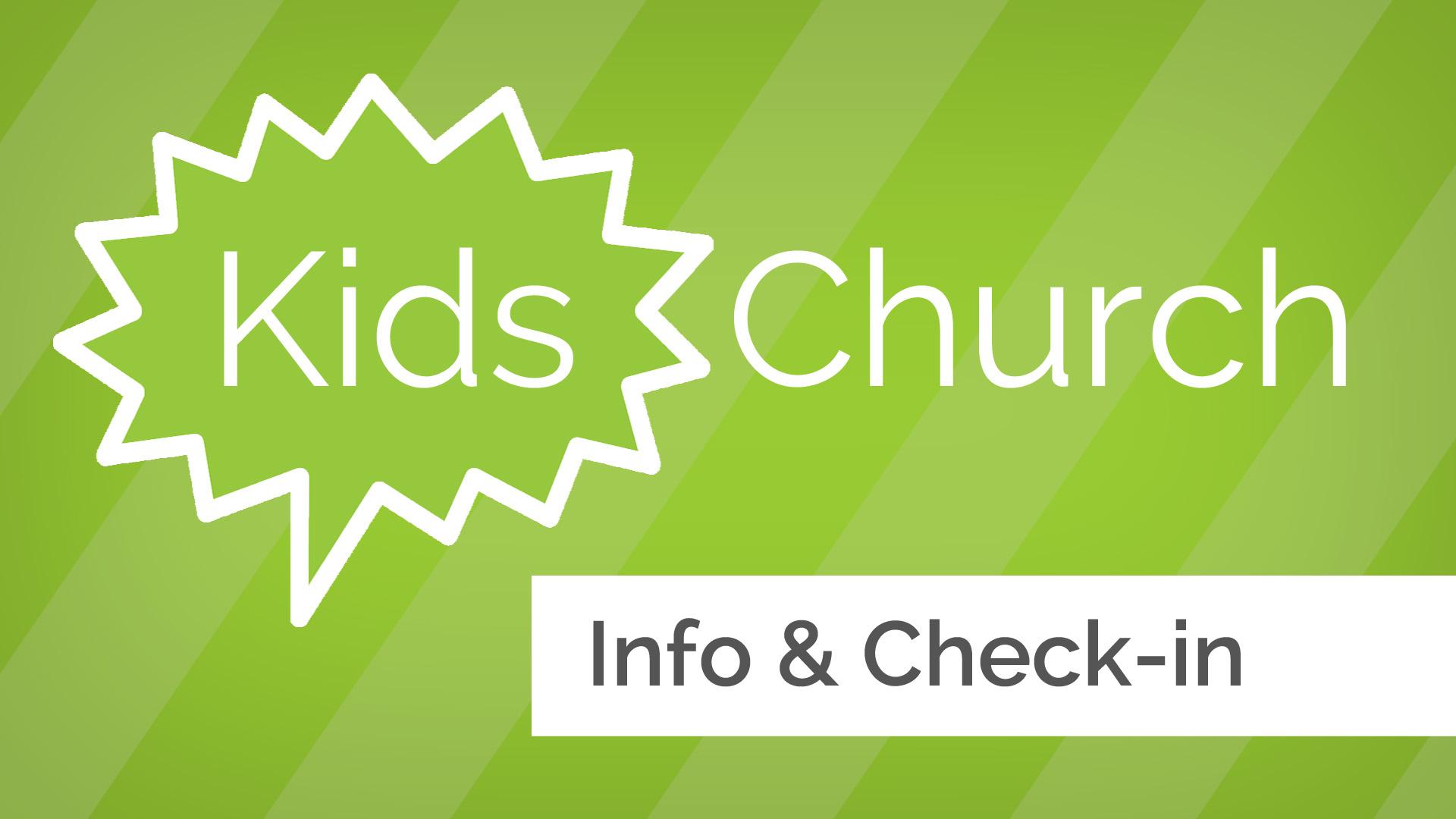 Iglesia de Niños | pursueGOD.org