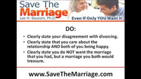 Help! My Spouse Wants a Divorce