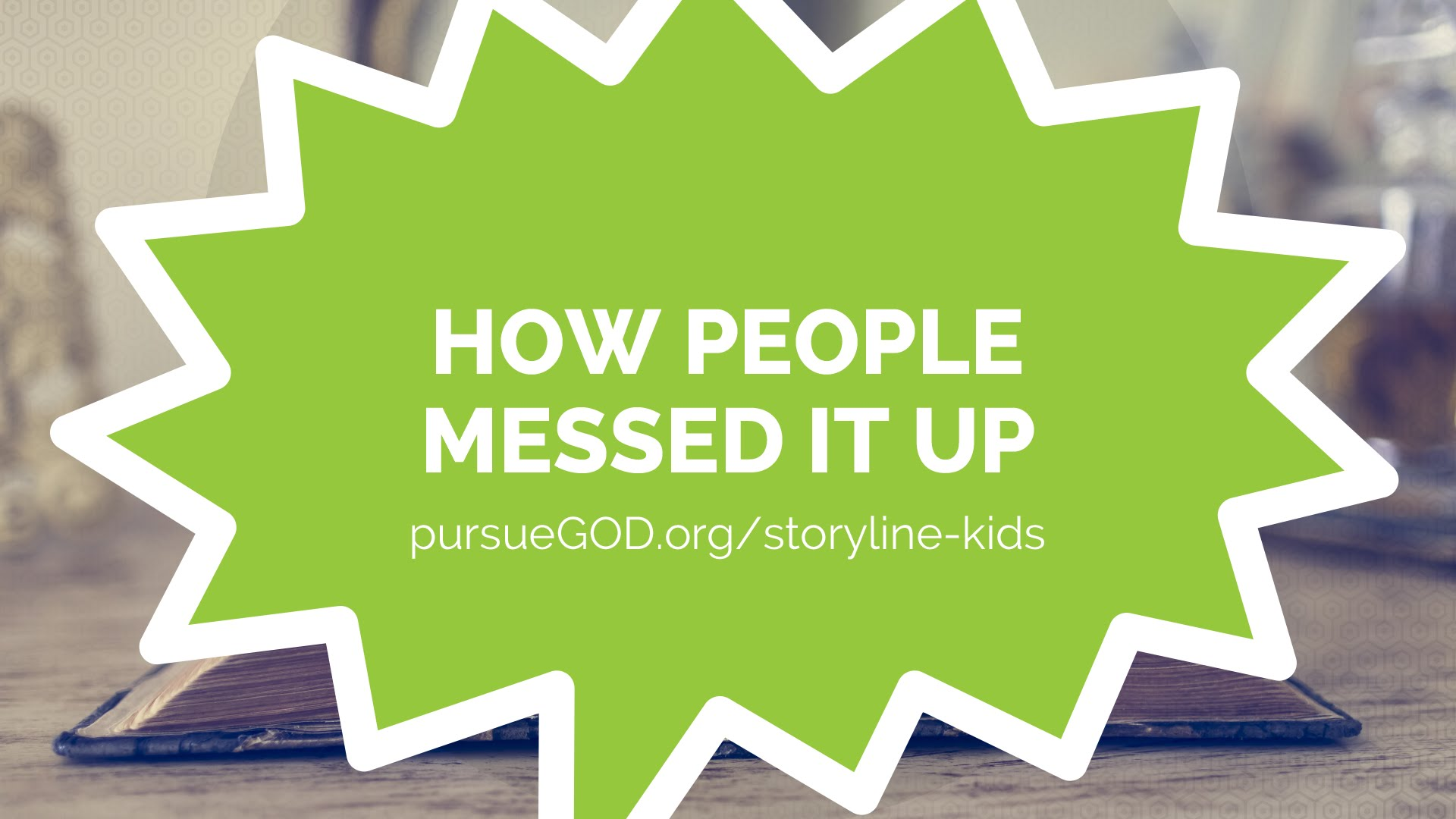How People Messed It Up (Kids)