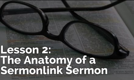 The Anatomy of a Sermon | PursueGOD Teacher Training