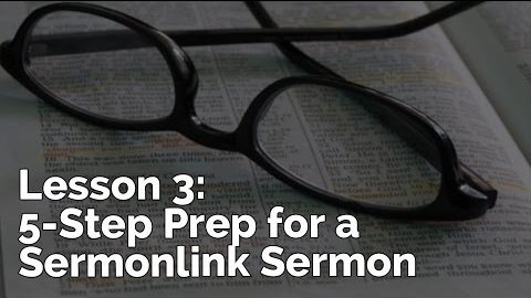 5-Step Prep for a Sermon | PursueGOD Teacher Training