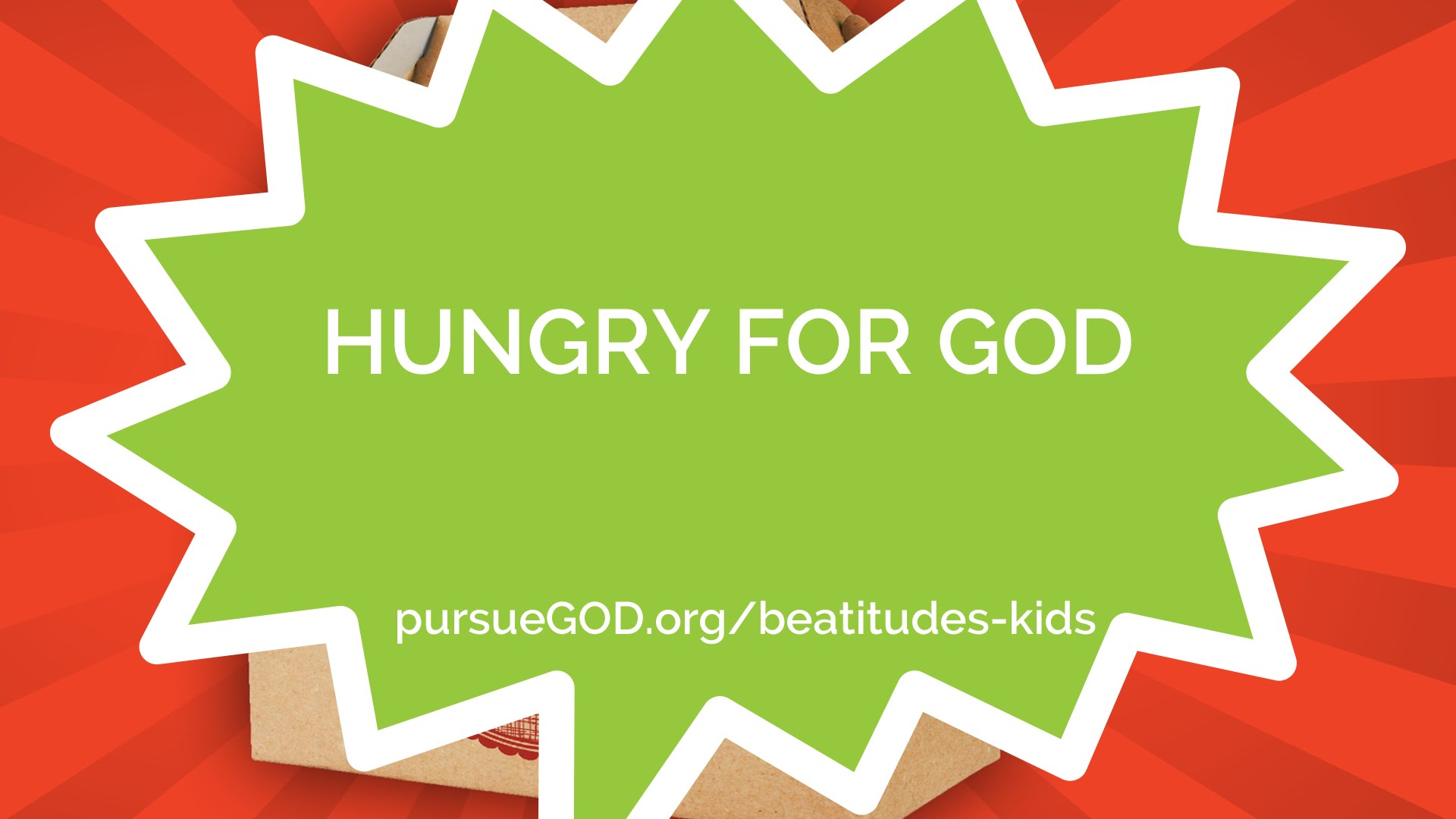 Hungry for God (Kids)