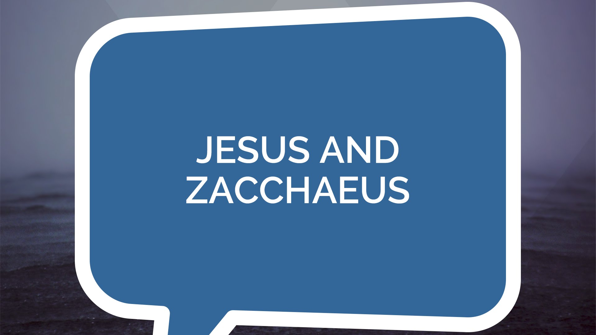 Jesus and Zacchaeus | Jesus: The Series (Youth)