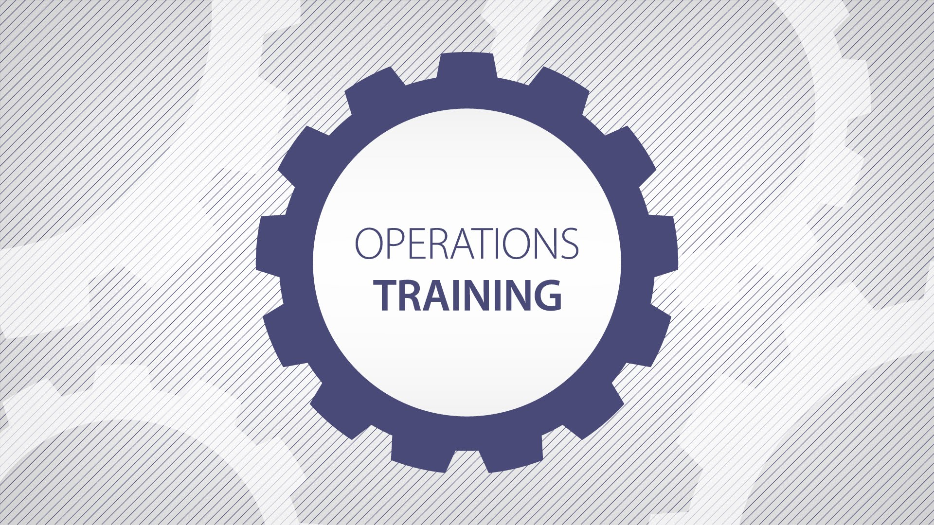 Operations Training (Series)