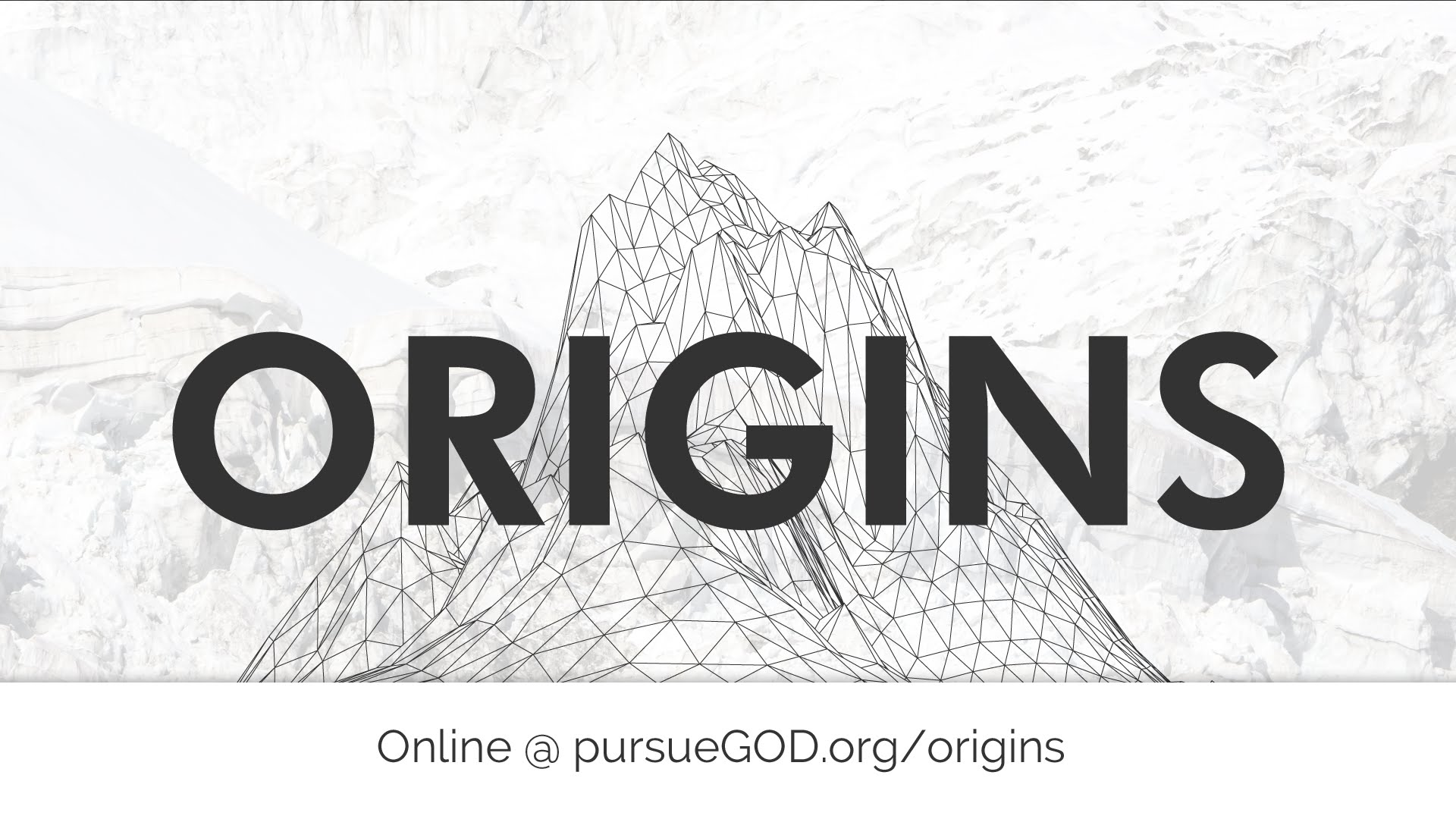 Origins: The Story of Joseph (Youth Series)