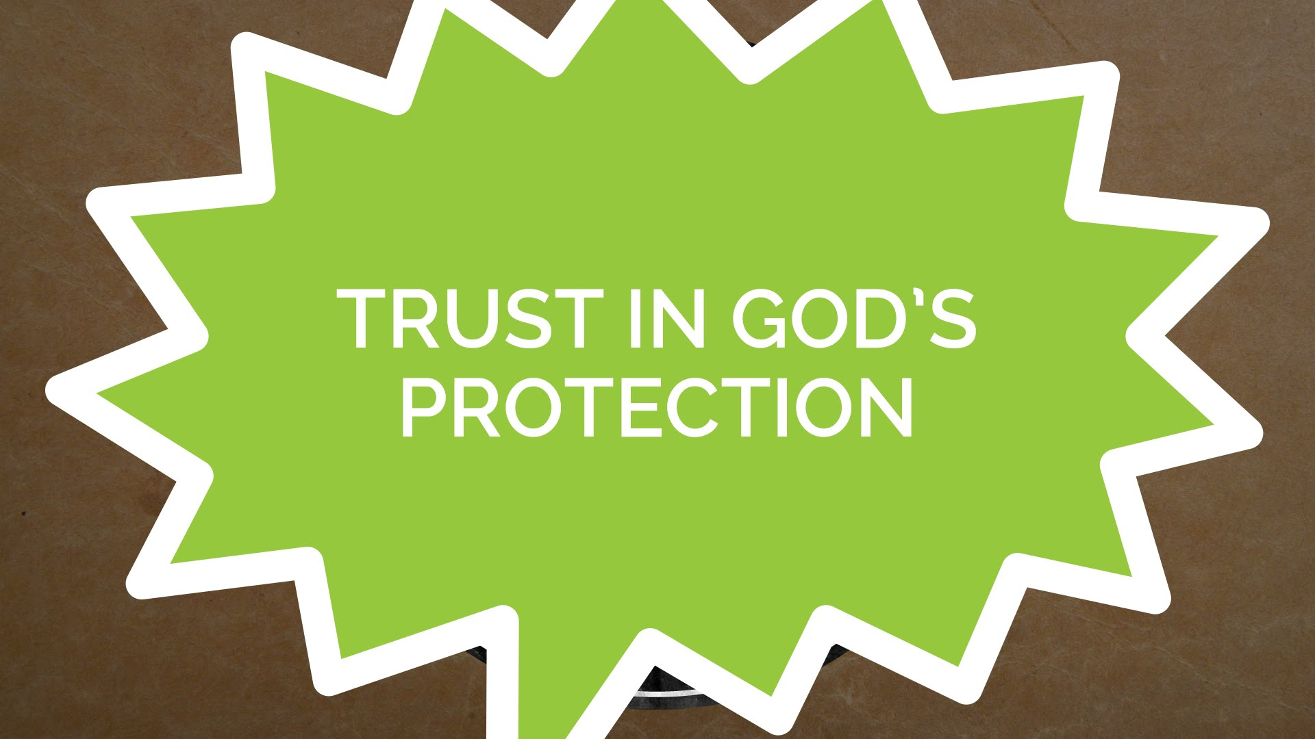 Psalm 121 – Trust in God's Protection (Kids)