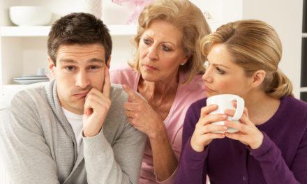 Conflit de belle-famille: votre femme contre votre mère