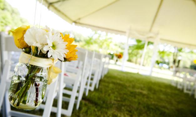 Liderando um ensaio de casamento