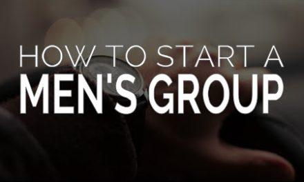 Starting a PG Men's Group