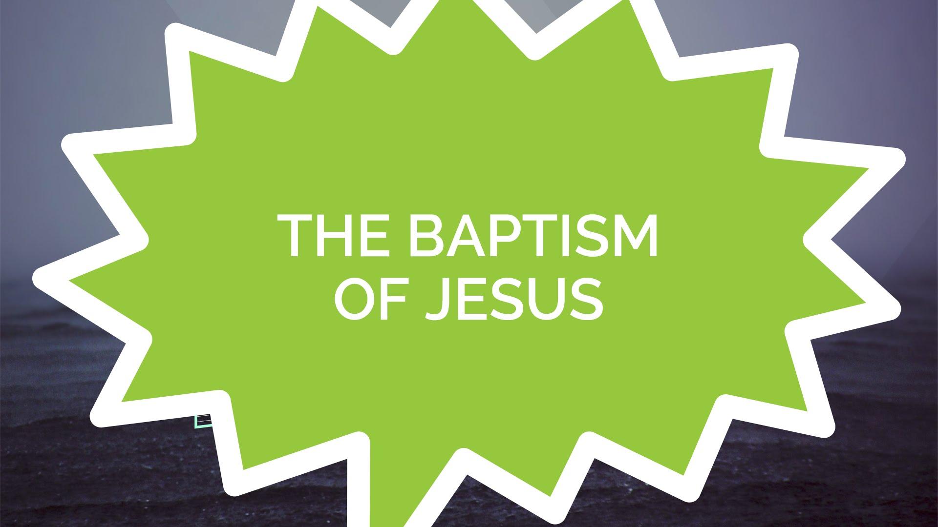Die Taufe Jesu (Kinder)