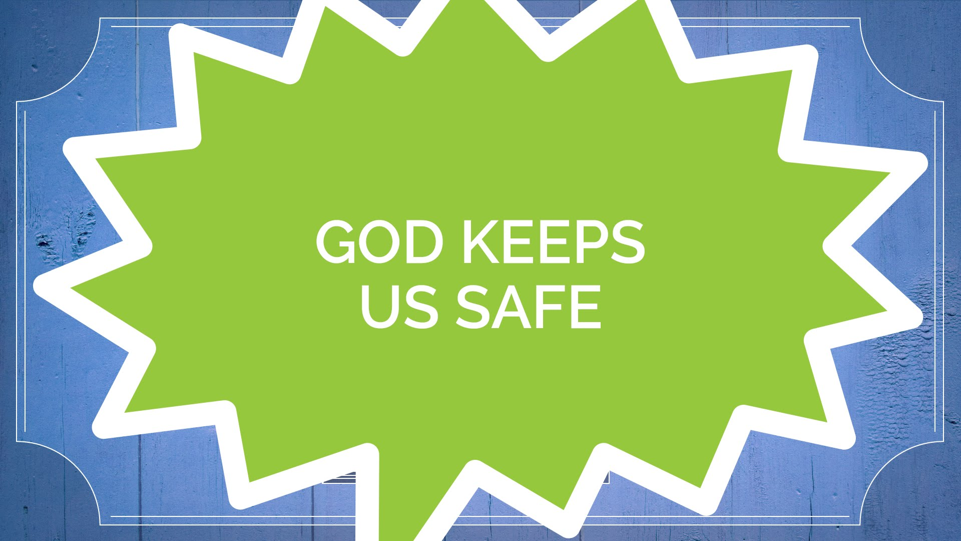 The Book of Jude #2: God Keeps Us Safe (Kids)