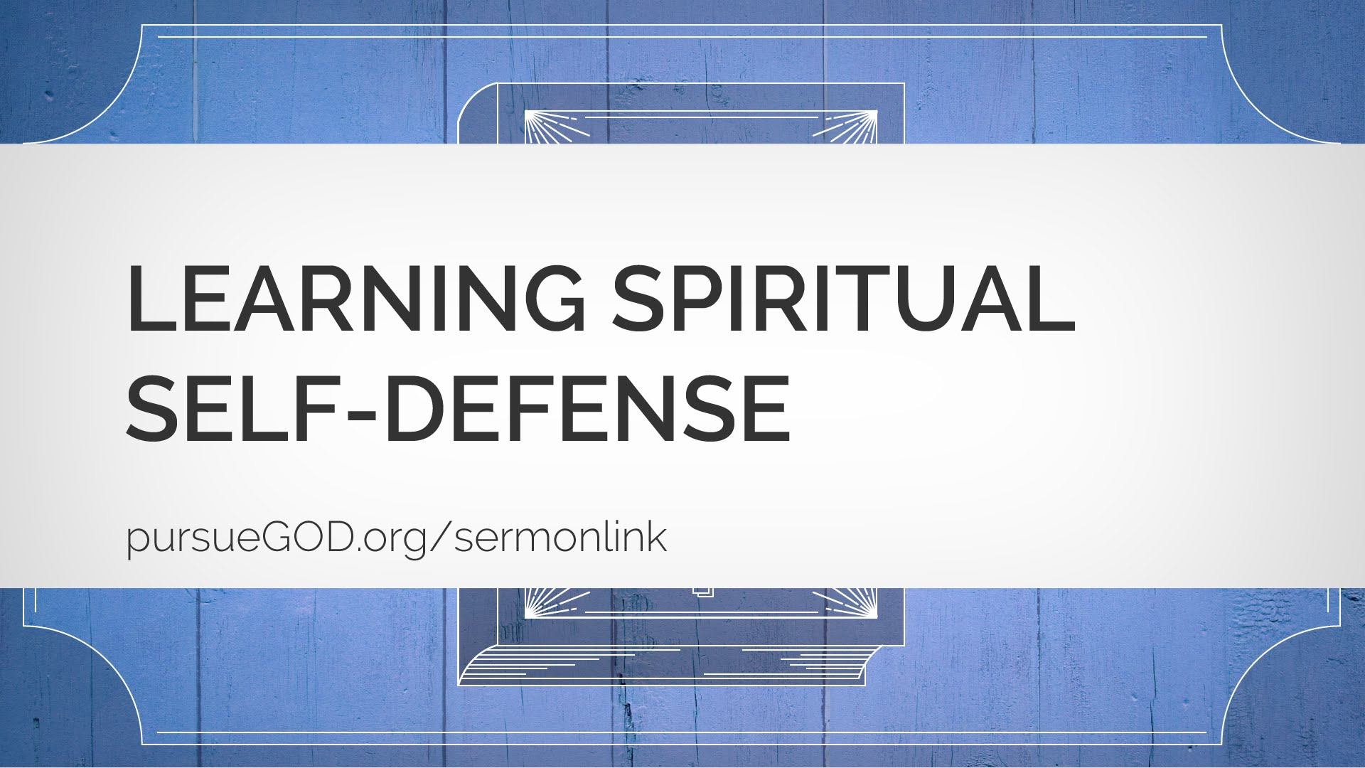 The Book of Jude #2: Learning Spiritual Self-Defense