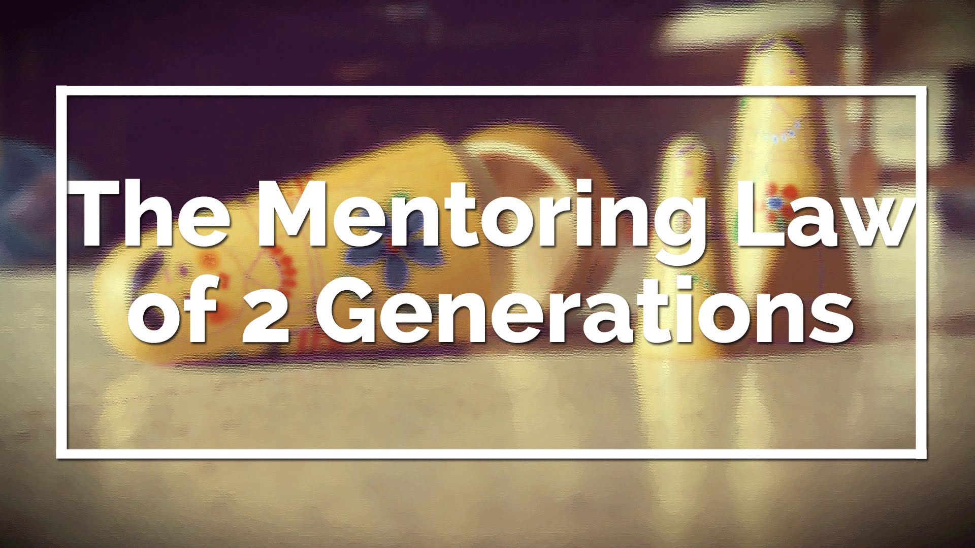 El árbol mentor y la ley de las generaciones 2
