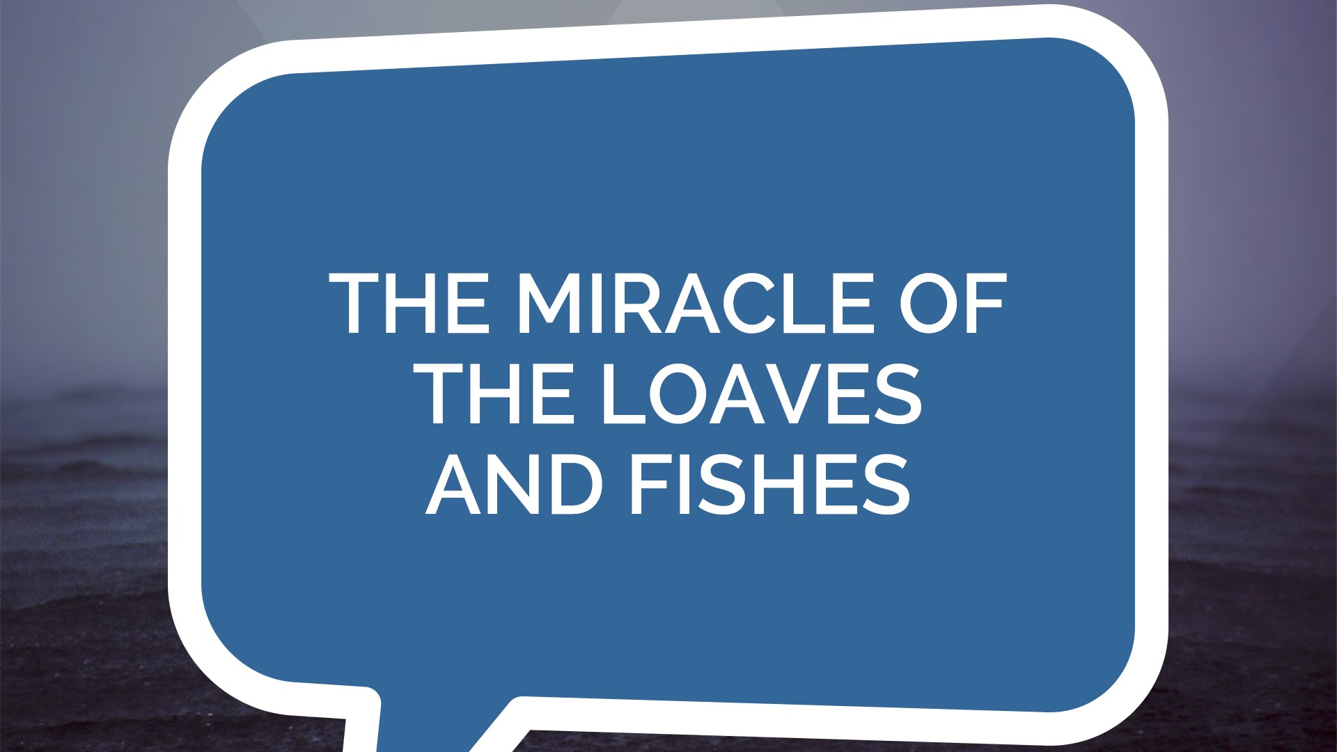 The Miracle of the Loaves and Fishes | Jesus: The Series (Youth)