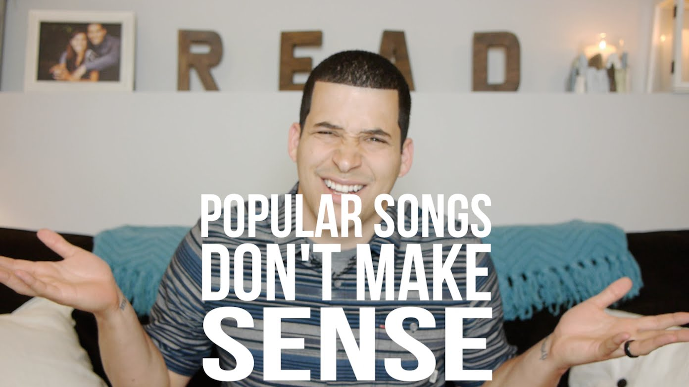 The Ridiculousness of Pop Song Lyrics (Youth)