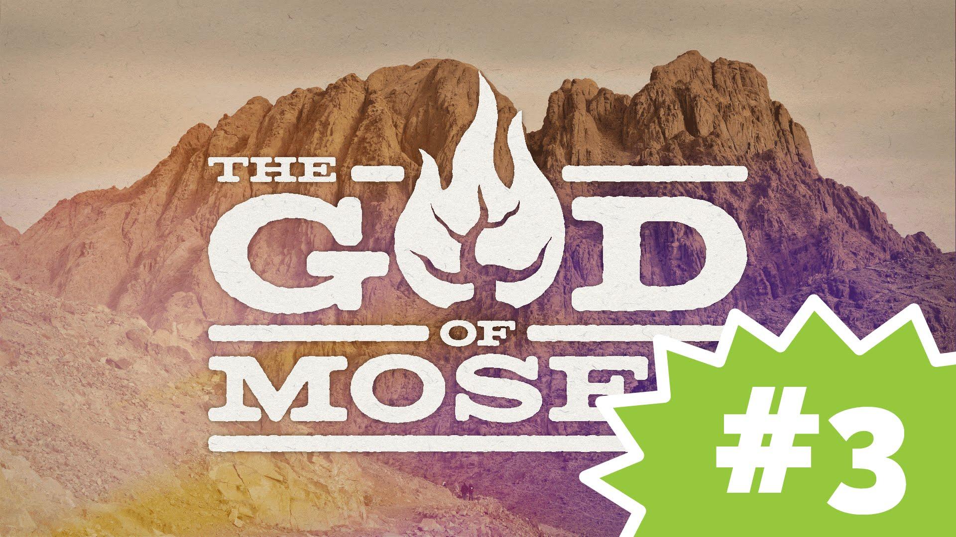 The Story of Moses, Episode 3: The Burning Bush (KIDS)