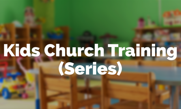 Kids Church Training