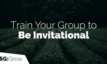 Train Your Group to Be Invitational