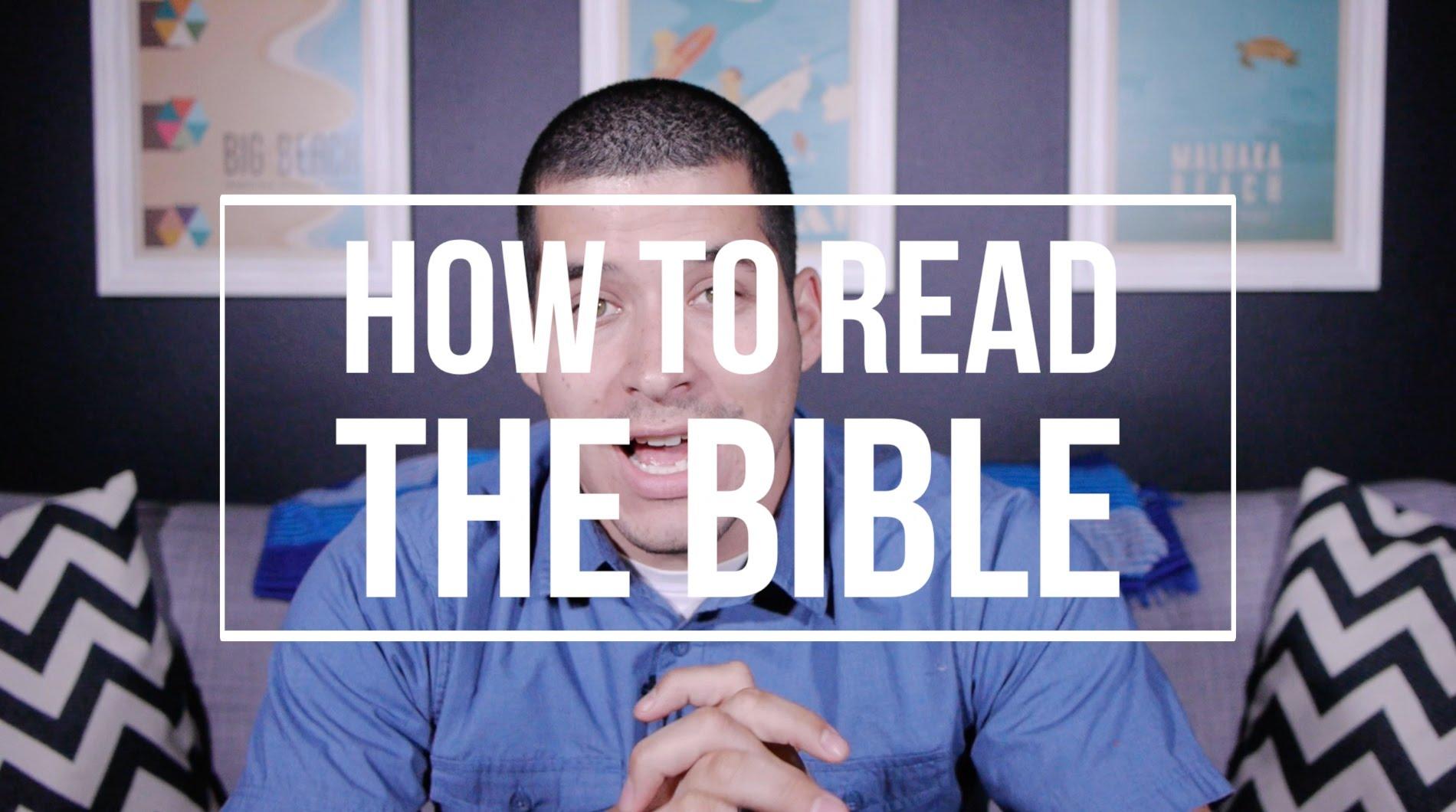 성경을 읽는 방법에 대한 3 팁