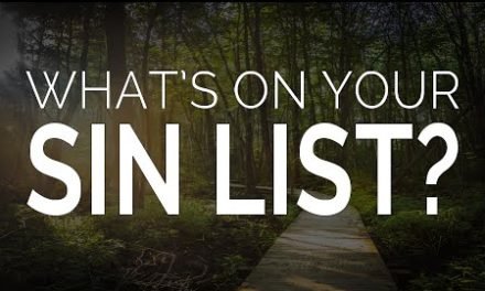 What's on Your Sin List?