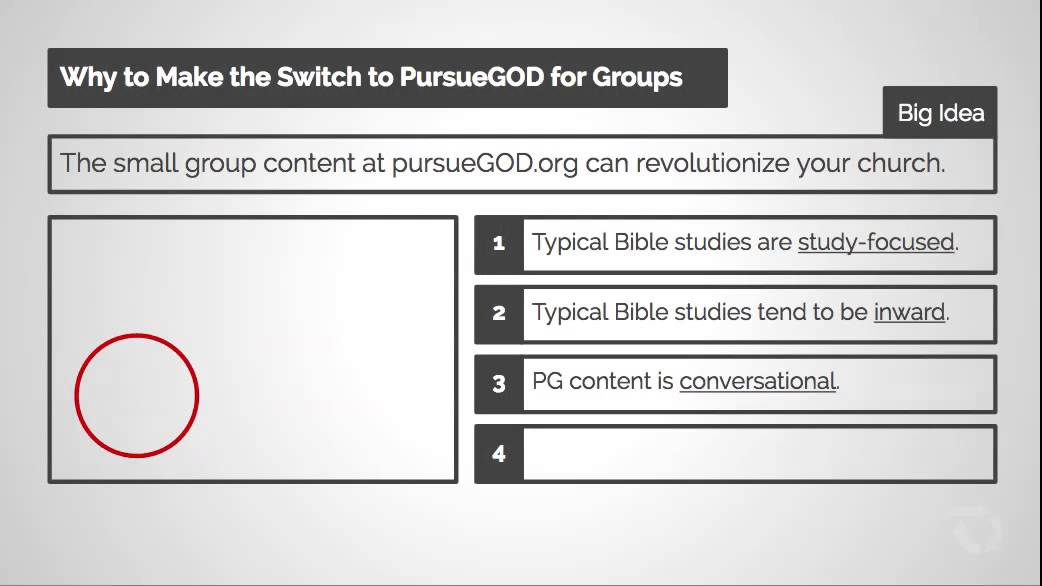 Why Make the Switch to PursueGOD Group Content for Groups?