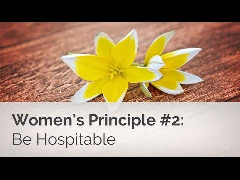 Women's Basics #2: Be Hospitable