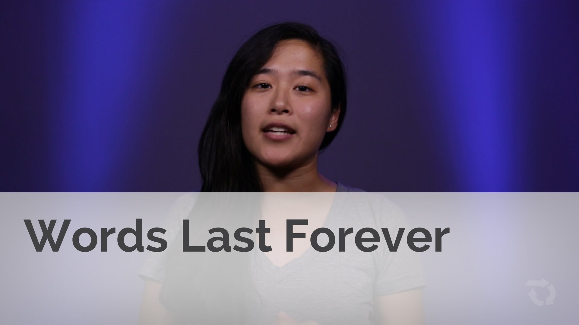 Your Words Last Forever (Students)